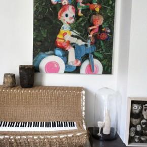 Piano en crochet